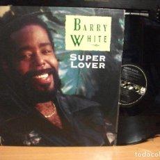 Discos de vinilo: BARRY WHITE SUPER LOVER MAXI GERMANY 1990 PEPETO TOP . Lote 127878391