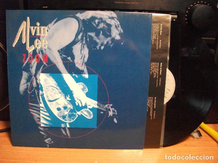 ALVIN LEE (TEN YEARS AFTER) ZOOM LP GERMANY 1992 PEPETO TOP (Música - Discos - LP Vinilo - Pop - Rock Internacional de los 90 a la actualidad)