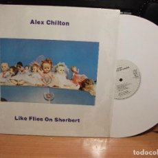 Discos de vinilo: ALEX CHILTON LIKE FLIES ON SHERBERT LP GERMANY 1987 PEPETO TOP . Lote 127879107