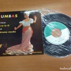 Discos de vinilo: EP PEPE LUIS /RUMBAS/ CARIOCA /MARIA LA O /TABU/ QUIEREME MUCHO EDITADO EN ESPAÑA VG++. Lote 127907815