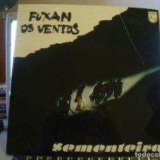 Discos de vinilo: RAR LP 33. FUXAN OS VENTOS. SEMENTEIRA. ENCARTE CON LETRAS. Lote 127908671