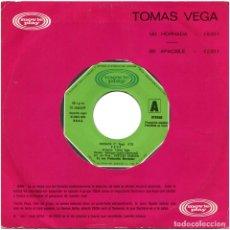 Discos de vinilo: TOMAS VEGA – HORNADA / APACIBLE - SG PROMO SPAIN 1978 - MOVIEPLAY 01.0465/9. Lote 127908755