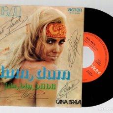 Discos de vinilo: CAÑA BRAVA. DUM, DUM. BLA, BLA, BLI BLI. RCA. AÑO 1971. Lote 127911075