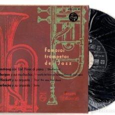 Discos de vinilo: FAMOSOS TROMPETAS DEL JAZZ. AÑO 1959. PHILIPS. Lote 127914932