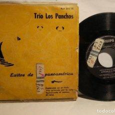 Discos de vinilo: TRÍO LOS PANCHOS EP 1958 ESPÉRAME EN EL CIELO + 3 TEMAS . Lote 127923671