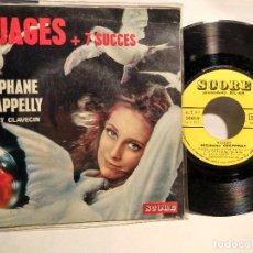 Discos de vinilo: STEPHANE GRAPPELLI EP NUAGES FRANCÉS . Lote 127925007