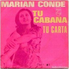 Discos de vinilo: MARIAN CONDE (JOSÉ TORREGROSA) - LA CABAÑA - SG SPAIN 1970 - PHILIPS ?60 29 036. Lote 127925043