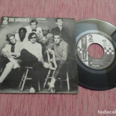 Discos de vinilo: THE SPECIALS - DO NOTHING (SPAIN 1981). Lote 127928915