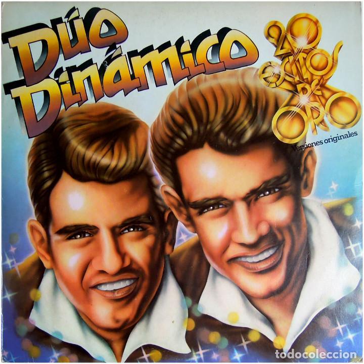 DÚO DINÁMICO – 20 EXITOS DE ORO - LP SPAIN 1980 - ODEON 10C 066-021711 Y (Música - Discos - LP Vinilo - Grupos Españoles 50 y 60)