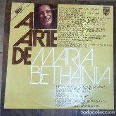 Discos de vinilo: MARIA BETHANIA - A ARTE DE LP ED. PORTUGUESA 1975. Lote 127962555
