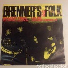 Discos de vinilo: BRENNER'S FOLK - JEANETTE - PIC-NIC DAURAT OEST - EP EDIGSA 1966. Lote 127968091