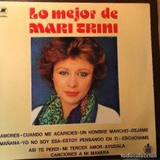 Discos de vinilo: LP ARGENTINO Y RECOPILATORIO DE MARI TRINI AÑO 1980. Lote 127978315
