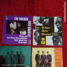 Discos de vinilo: EXCELENTES 4 EPS DE GOLDEN QUARTET . Lote 127978343