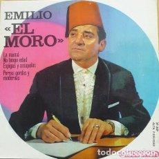 Discos de vinilo: EMILIO EL MORO ?– LA MAMÁ / NO TENGO EDAD 7 ESPIGAS Y AMAPOLAS / PERRAS GORDAS Y MODERNAS (ESP. 64'). Lote 127978943