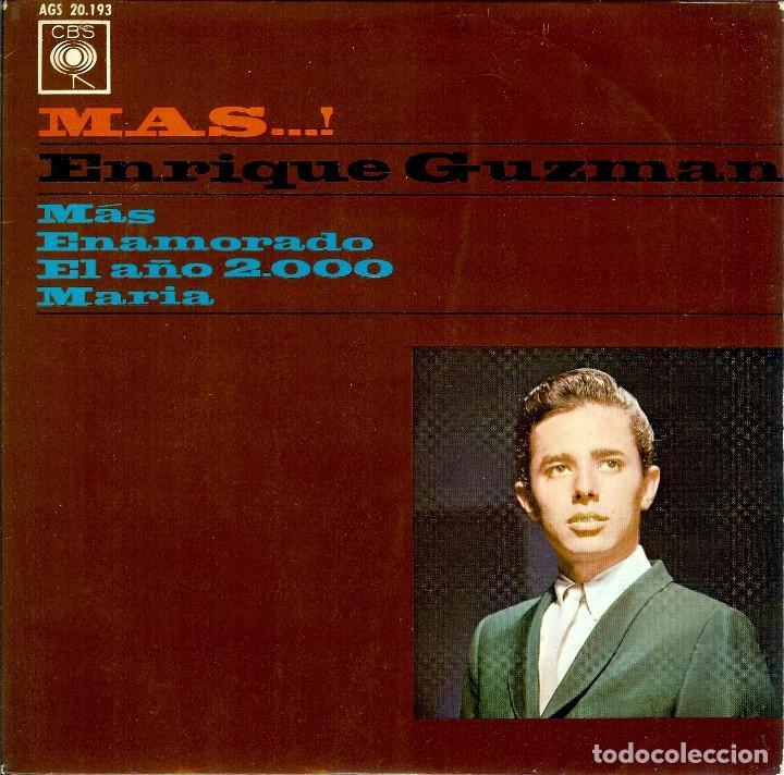ENRIQUE GUZMAN MAS / ENAMORADO / EL AÑO 2.000 / MARIA / EP 1964 (Música - Discos de Vinilo - EPs - Grupos y Solistas de latinoamérica)