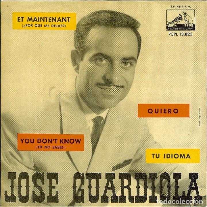 JOSE GARDIOLA ET MAITENANT - QUIERO - TU IDIOMA - EP AÑO 1962 (Música - Discos de Vinilo - EPs - Solistas Españoles de los 50 y 60)