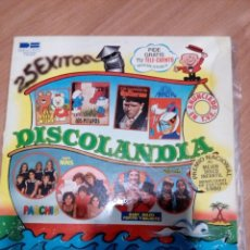 Discos de vinilo: DISCOLANDIA - 25 EXITOS - 1982 BELTER. Lote 127992999