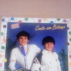 Discos de vinilo: LP BOTONES CANTA CON BOTONES - ULISES. Lote 127994659