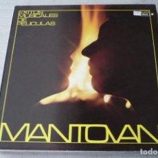 Discos de vinilo: EXITOS DE PELICULAS MANTOVANI. Lote 128013247