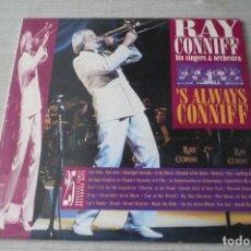 Discos de vinilo: RAY CONNIFF HIS SINGERS& ORCHESTRA DOBLE LP. Lote 128013411