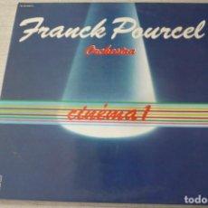 Discos de vinilo: FRANCK POURCEL ORCHESTRA CINEMA 1 DOBLE LP. Lote 128013499