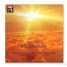 Discos de vinilo: HANDEL ''EL MESÍAS'' - EMI - LA VOZ DE SU AMO - 1983. Lote 147669514