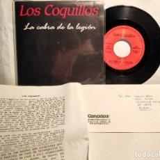 Disques de vinyle: LOS COQUILLOS LA CABRA DE LA LEGIÓN BIO+ CARTA DEDICADA NUEVO A ESTRENAR . Lote 128039339