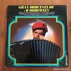 Discos de vinilo: GRAN ORQUESTA DE ACORDEONES - S/T - LP DISCOPHON 1965. Lote 128045591