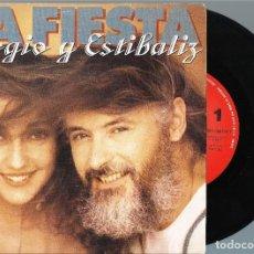 Discos de vinilo: SERGIO Y ESTIBALIZ.. Lote 128051267