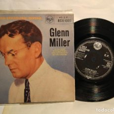 Discos de vinilo: GLENN MILLER SERIE DE ORO DE IN THE MOOD +3 TEMAS. EDIC. INGLESA. Lote 128052487