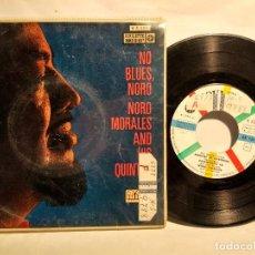 Discos de vinilo: NORO MORALES Y SU QUINTETO PERFUME DE GARDENIA + 3 TEMAS. Lote 128052559