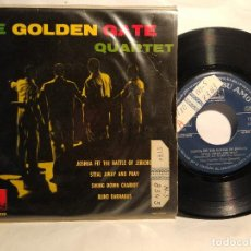 Discos de vinilo: THE GOLDEN GATE QUARTET EP JOSHUA FIT THE BATTLE OF JERICHO+ 3 TEMAS 1961 . Lote 128052823