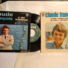 Discos de vinilo: CLAUDE FRANÇOIS 2 EPS FRANCESES . Lote 128053643