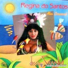 Discos de vinilo: REGINA DO SANTOS, MEU CARNAVAL, MAXI-SINGLE HORUS SPAIN 1988. Lote 128071947