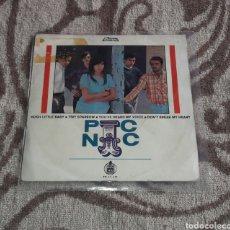 Discos de vinilo: JEANETTE, PIC-NIC, CANTA EN INGLES. Lote 128059347