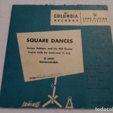 Discos de vinilo: CARSON ROBISON - SQUARE DANCES (10 PULGADAS). Lote 128078563