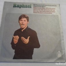 Discos de vinilo: RAPHAEL - DIGAN LO QUE DIGAN (ARGENTINA 1966). Lote 128079015