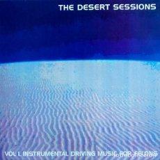 Discos de vinilo: QUEENS OF THE STONE AGE LP THE DESERT SESSIONS VOLUME I II VINILO MUY RARO COLECCIONISTA. Lote 128080395