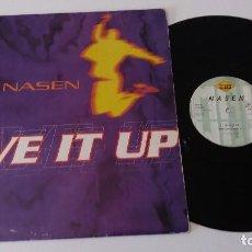 Discos de vinilo: NASEN - GIVE IT UP. Lote 128083731