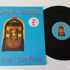 Discos de vinilo: ANDREW SIXTY - HOUND DOG __ TUTTI FRUTTI. Lote 128084263