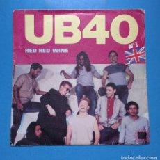 Discos de vinilo: UB40 - RED RED WINE. Lote 128094795