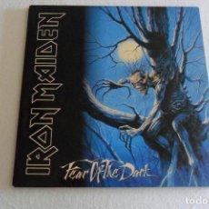 Discos de vinilo: IRON MAIDEN - FEAR OF THE DARK 2 LPS 1992. Lote 128095483