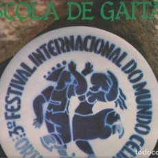 Discos de vinilo: ESCOLA DE GAITAS ?– 3º FESTIVAL INTERNACIONAL DO MUNDO CELTA ORTIGUEIRA 1980. Lote 128096875