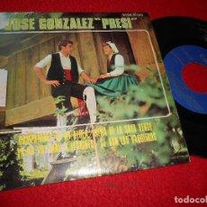 Discos de vinilo: JOSE GONZALEZ PRESI CAMPANINES DE MI ALDEA/NEÑA DE LA SAYA VERDE +2 EP 1969 COLUMBIA ASTURIAS. Lote 128097355