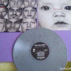Discos de vinilo: LP. BAD RELIGION - THE GRAY RACE - GREY - LP GRIS - MUY RARO - VINILOVINTAGE ´ENCARTE.. Lote 128108435
