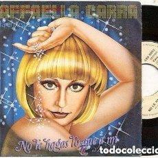 Disques de vinyle: RAFFAELLA CARRA SINGLE PROMOCIONAL EN ESPAÑOL 1979 NO TE HAGAS LO QUE A MI / VUELVE EXTRA BIOGRAFIA. Lote 128110039