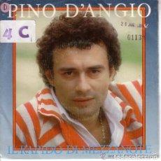 Discos de vinilo: PINO D'ANGIO, IL RAPIDO DI MEZZANOTTE, SINGLE SPAIN 1984. Lote 128110159