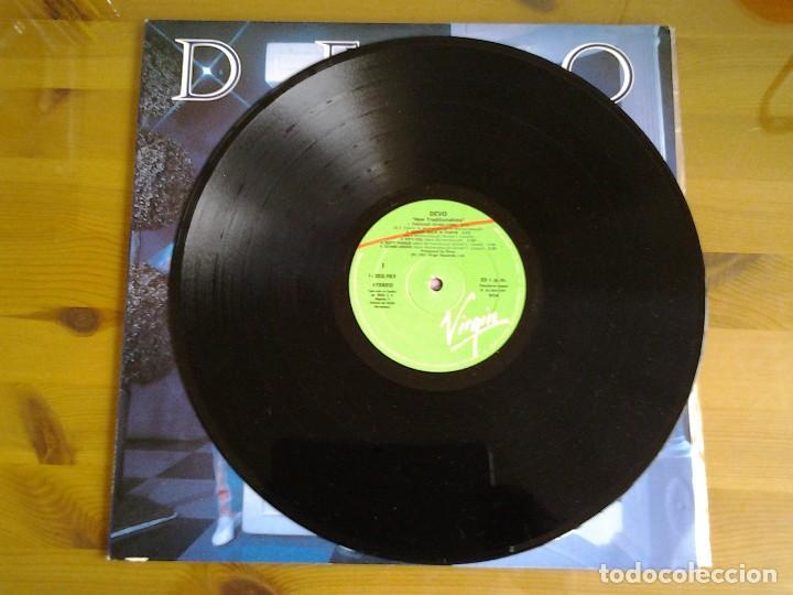 Discos de vinilo: DEVO -NEW TRADITIONALISTS - LP VIRGIN 1981 I -203.985 ED. ESPAÑOLA MUY BUENAS CONDICIONES - Foto 3 - 128112843