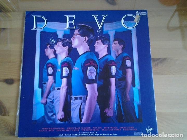 Discos de vinilo: DEVO -NEW TRADITIONALISTS - LP VIRGIN 1981 I -203.985 ED. ESPAÑOLA MUY BUENAS CONDICIONES - Foto 4 - 128112843