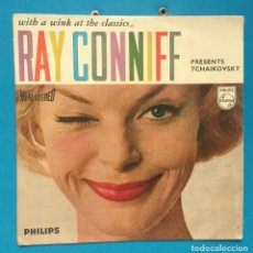 Discos de vinilo: RAY CONNIFF ‎– WITH A WINK AT THE CLASSICS RAY CONNIFF PRESENTS TCHAIKOVSKY. Lote 128115859